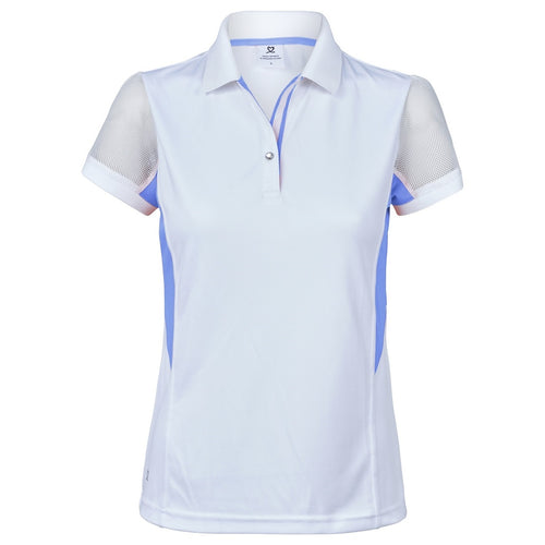 Daily Sports Women's Atlanta Cap Sleeve Polo Shirt Heaven Product Image Front 843/109/550