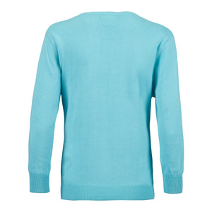 Daily Sports Women's Campbell Pullover Lagoon Product Image Back 843/500/627
