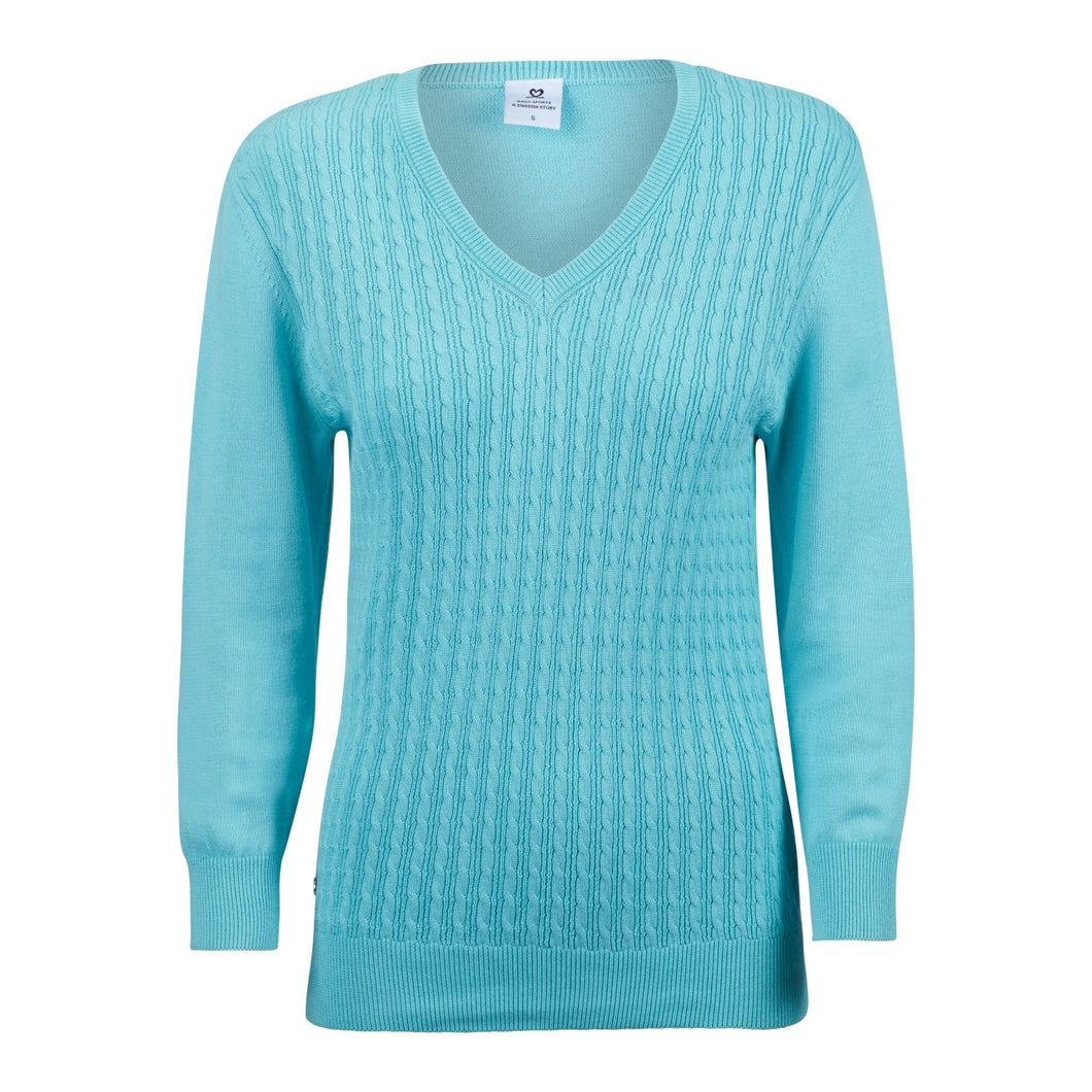 Daily Sports Women's Campbell Pullover Lagoon Product Image Front 843/500/627