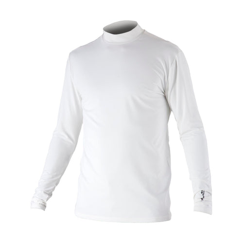 851506 Catmandoo Men's Ebbot White Turtleneck Base Layer Top Product Image Front