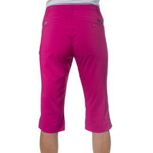861559 Catmandoo Womens Betti Radiant Purple Cropped Capri Trousers Product Image Back