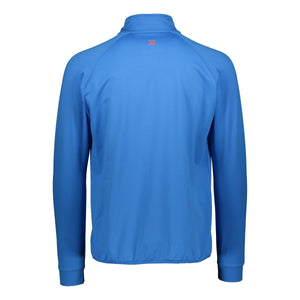 881058 CMD Mens Burwick Electric Blue Full-Zip Stretch Mid Layer Jacket Product Image Back