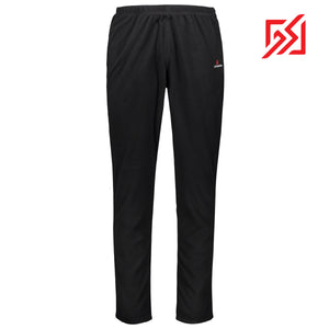 882108 CMD Mens Black Fleece Thermal Leggings Product Image Front