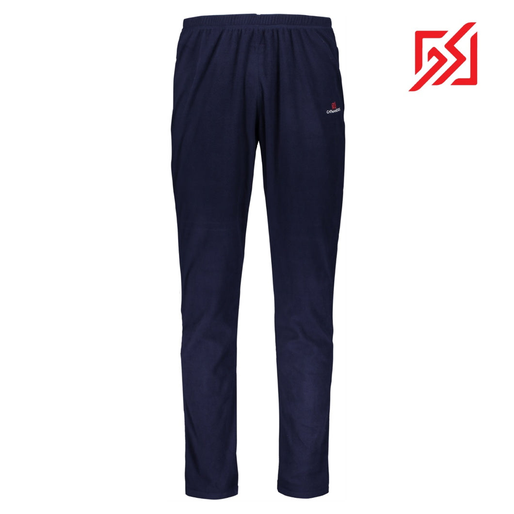 882108 CMD Mens Navy Fleece Thermal Leggings Product Image Front