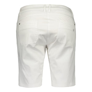 Catmandoo Women's Feisty White Cotton Short Product Image Back