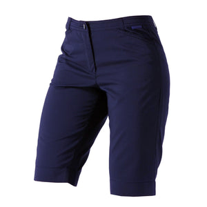 Catmandoo Ladies Leone Navy Knee-Length Golf Shorts Product Image Front 861558
