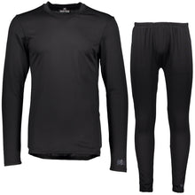 Catmandoo Men's Aatle Black Base Layer Top & Bottoms 862457