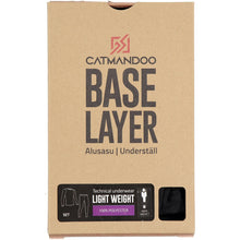 Catmandoo Men's Aatle Black Base Layer Box Packaging 862457