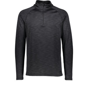Catmandoo Men's Sandro Grey Mid Layer Half Zip Top Front 862453