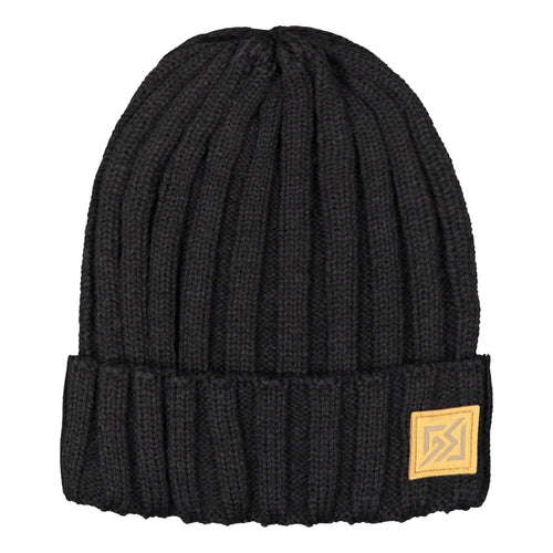Catmandoo Otra Unisex Fisherman Ribbed Beanie Hat in Black Product Image 882309_060