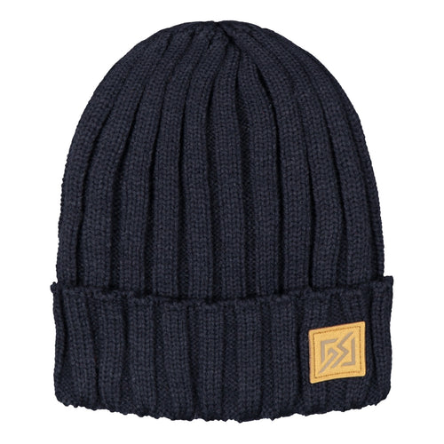 Catmandoo Otra Unisex Fisherman Ribbed Beanie Hat in Peacoat Navy Blue Product Image 882309_6102