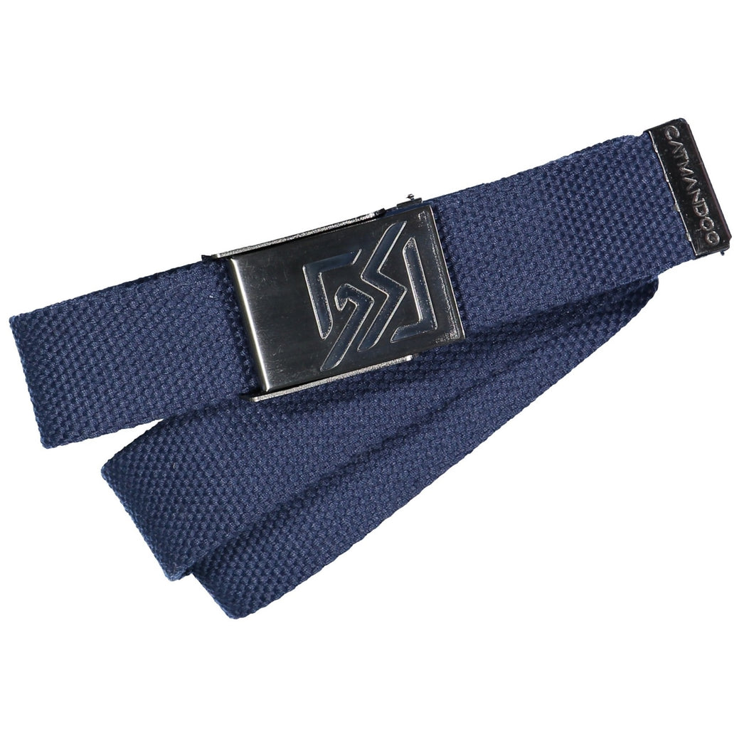 Catmandoo Unisex Sligo Peacoat Blue Navy Canvas Adjustable Belt Product Image 881079