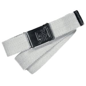 Catmandoo Unisex Sligo White Canvas Adjustable Belt Product Image 881079