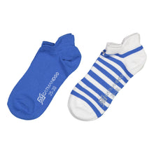 Catmandoo Oseye Blue & White Striped Sock 2-Pack Product Image 881083