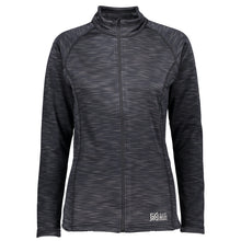 Catmandoo Women's Ana Dark Grey Full-zip Mid Layer Jacket Front 862404