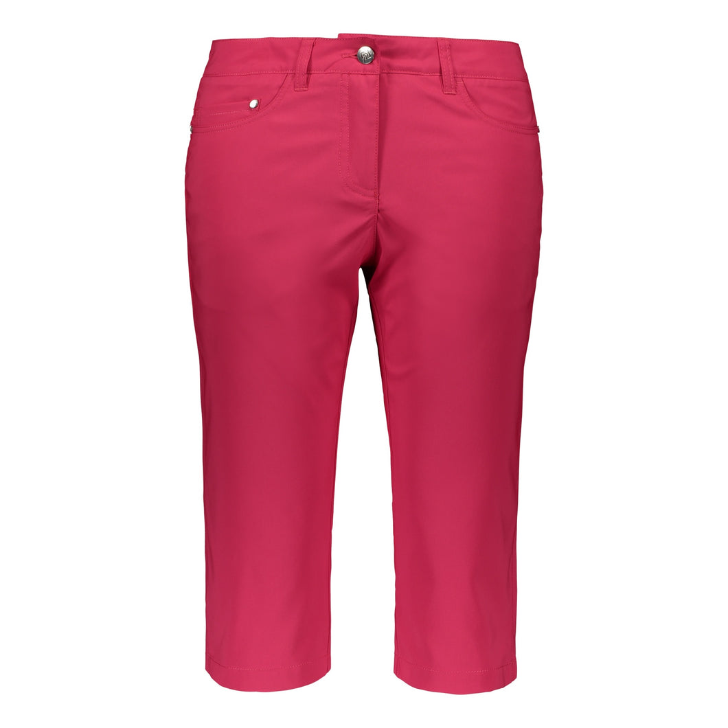 Catmandoo Women's Balmy Bright Rose Pink Capri Pants Product Image Front 891017