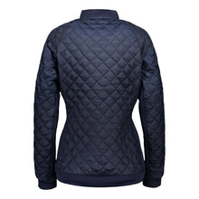 Catmandoo Women's Brill Navy Quilted Hybrid Jacket Product Image Back 891006