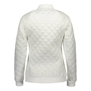 Catmandoo Women's Brill White Quilted Hybrid Jacket Product Image Back 891006