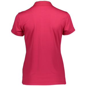 Catmandoo Women's Cara Polo Shirt Bright Rose Product Image Back 881020