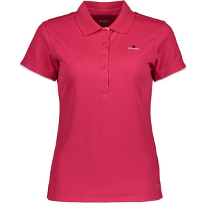 Catmandoo Women's Cara Polo Shirt Bright Rose Product Image Front 881020