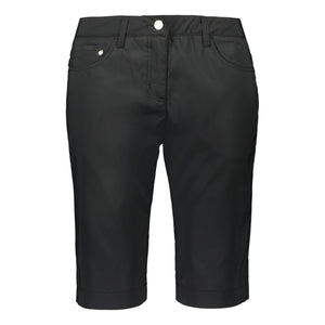 Catmandoo Women's Clement Black Golf Shorts Product Image Front 891018