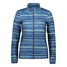 Catmandoo Women's Compere Navy Printed Midlayer Jacket Product Image Front 891009
