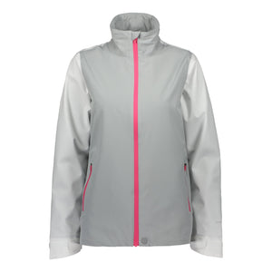 Catmandoo Women's Forres Grey Waterproof Jacket Product Image Front 881000