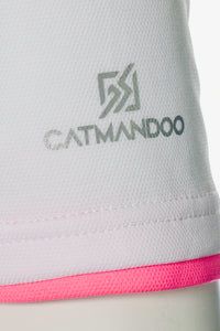Catmandoo Women's Helen White Polo Shirt Product Detail 871017