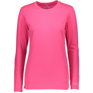 Catmandoo Helli Women's Pink Base Layer Set Top Front 862407