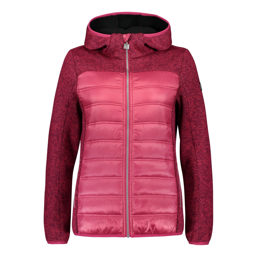 Catmandoo Women's Idre Pink Oxalis Wool Blend Jacket Product Image Front 892019