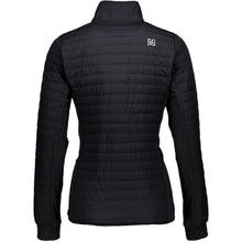 Catmandoo Women's Inbee Black Hybrid Jacket Back 871003