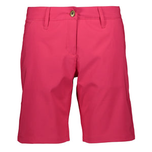 Catmandoo Women's Judyn Bright Rose Golf Shorts Product Image Front 871022