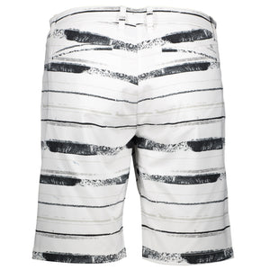 Catmandoo Women's Judyn White Print Golf Shorts Product Image Back 871022
