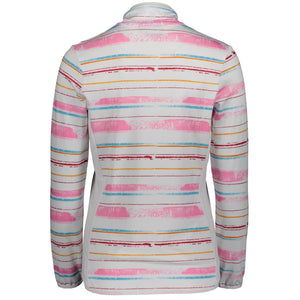 Catmandoo Women's Melina Midlayer Jacket White Print Product Image Back 881014
