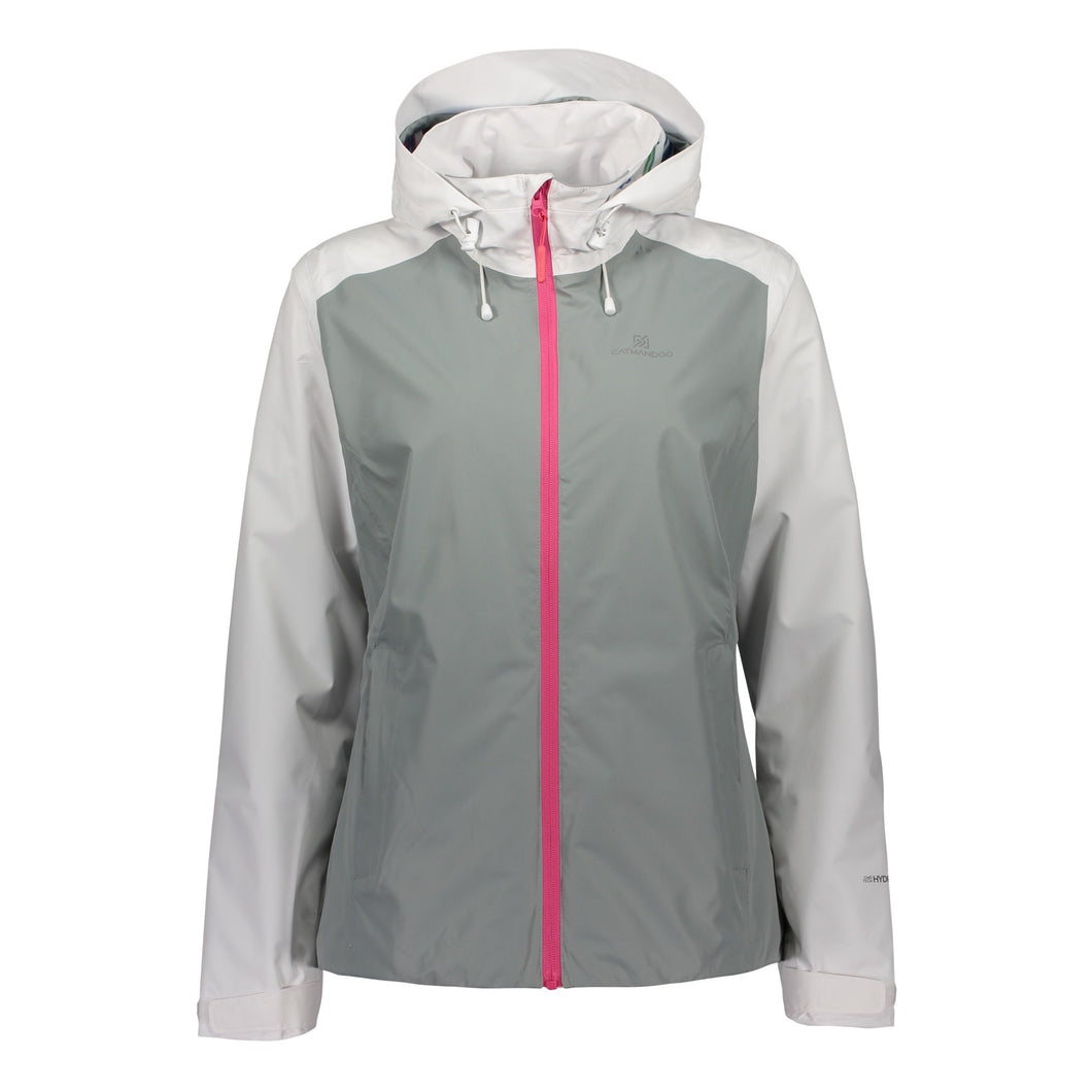 Catmandoo Women's Noble Grey Waterproof Jacket Product Image Front 891001