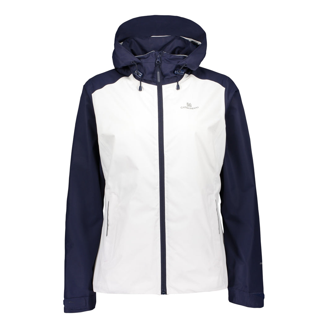 Catmandoo Women's Noble White Waterproof Jacket Product Image Front 891001