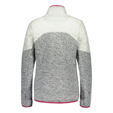 Catmandoo Women's Ollons White Hybrid Knit Jacket Product Image Rear 892020
