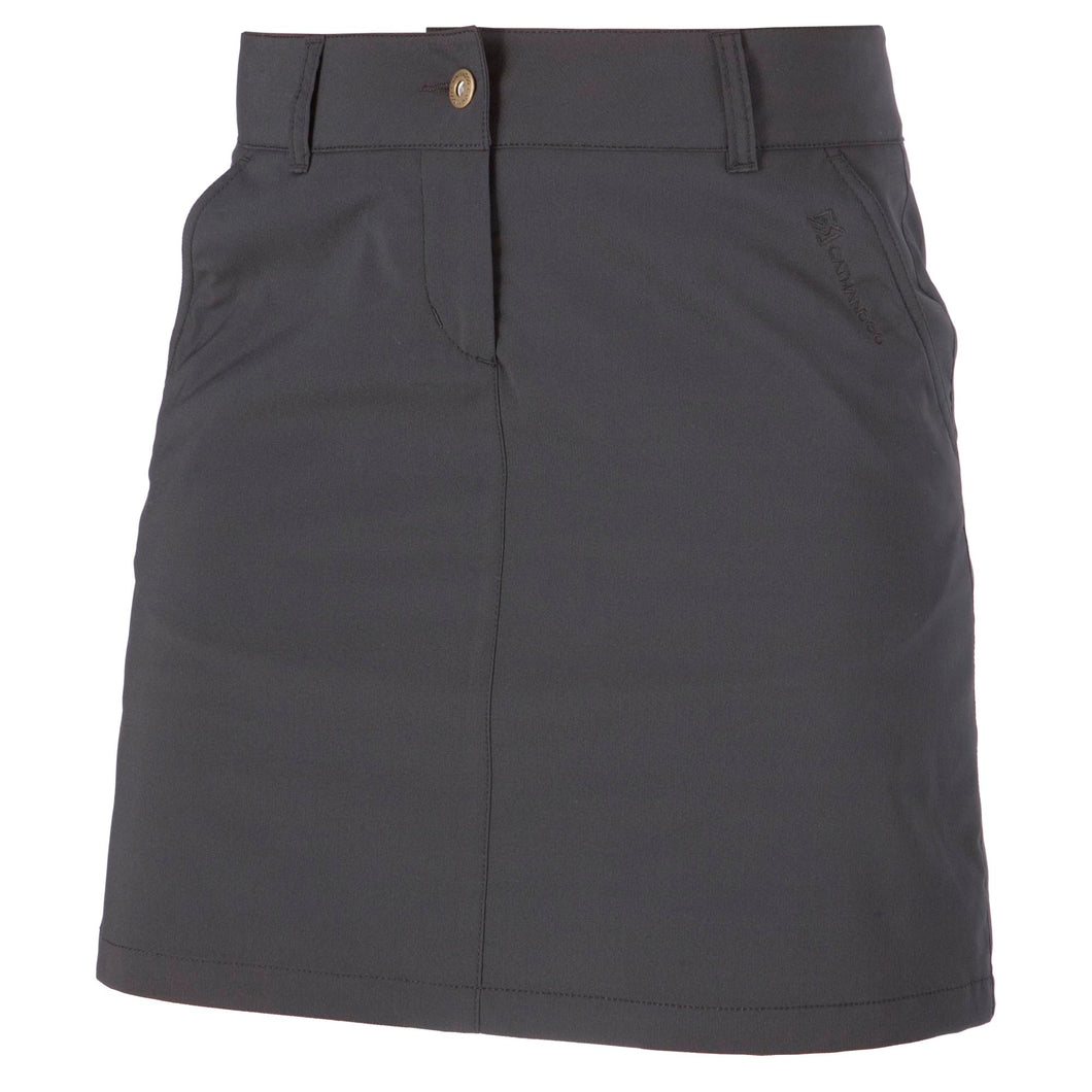 Catmandoo Women's Phebe Black Golf Skort Product Front 871023