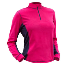 Catmandoo Sania Womens Bright Rose Microfleece Mid Layer Top Front 882035_4060a