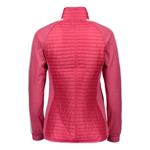 Catmandoo Women's Snazzy Bright Rose Pink k Quilted Hybrid Jacket Product Image Back 891007