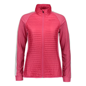 Catmandoo Women's Snazzy Bright Rose Pink k Quilted Hybrid Jacket Product Image Front 891007