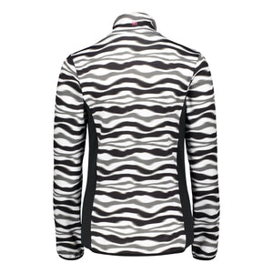 Catmandoo Women's Taipan Midlayer Jacket Black Zebra Print Product Image Back 882013