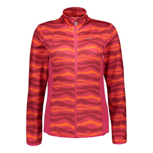 Catmandoo Women's Taipan Midlayer Jacket Bright Rose Print Product Image Front 882013