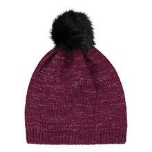 Catmandoo Zoe Glitter Yarn Bobble Hat in Purple Product Image 892404_5059