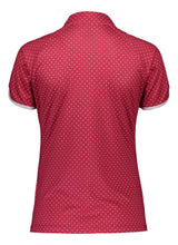Catmandoo Mayfly Bright Rose Spotted Polo Shirt