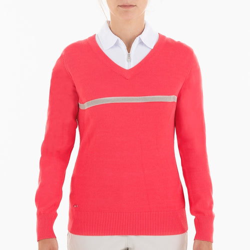 NI0210201 Nivo Billie Women's V-Neck Sweater Product Image Front