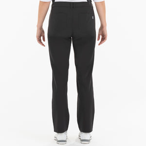 NI0210400 Nivo Marlee Women's Black Stretch Trouser Product Image Back