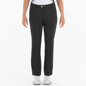 NI0210400 Nivo Marlee Women's Black Stretch Trouser Product Image Front