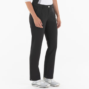 NI0210400 Nivo Marlee Women's Black Stretch Trouser Product Image Side