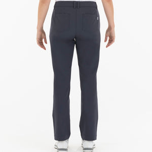 NI0210400 Nivo Marlee Women's Navy Stretch Trouser Product Image Back